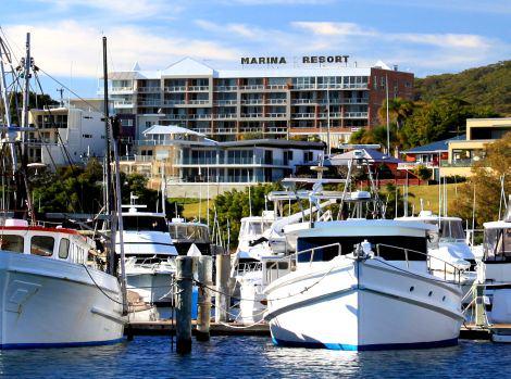 Marina Resort Nelson Bay Marina