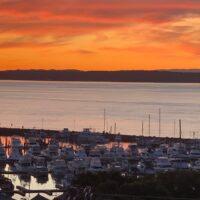 Sunset over Nelson Bay